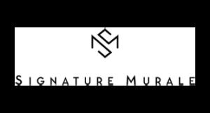 logo signature murale