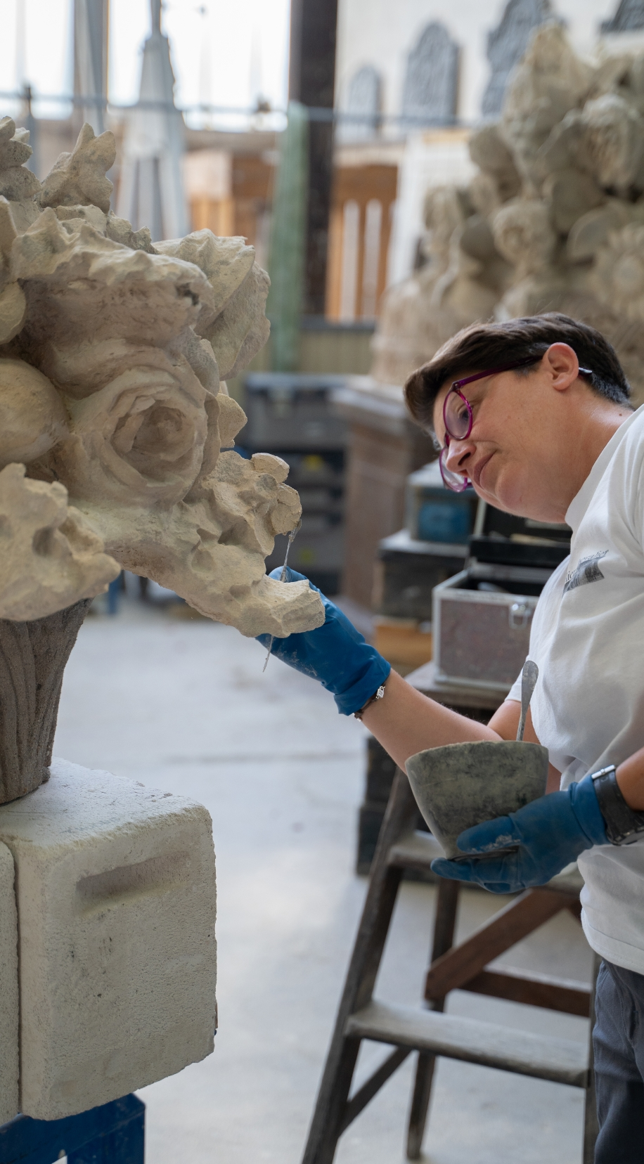 artisanat restauration sculpture