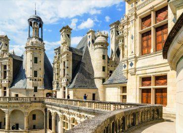 France. Terrace Chambord: presumably the project of Leonardo da